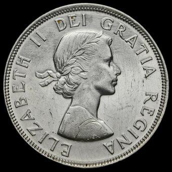 Canada 1964 Elizabeth II Silver Dollar Obverse