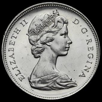 Canada 1966 Elizabeth II Silver Dollar Obverse