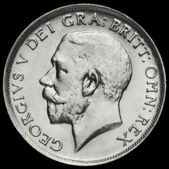 1919 George V Silver Shilling Obverse