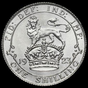 1923 George V Silver Shilling Reverse