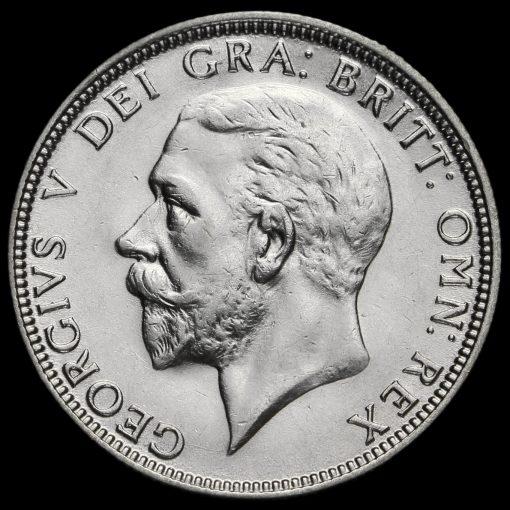 1931 George V Silver Florin Obverse