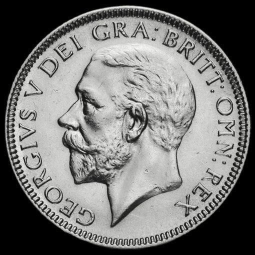 1932 George V Silver Shilling Obverse