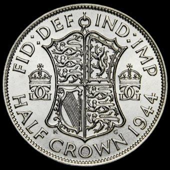 1944 George VI Silver Half Crown Reverse