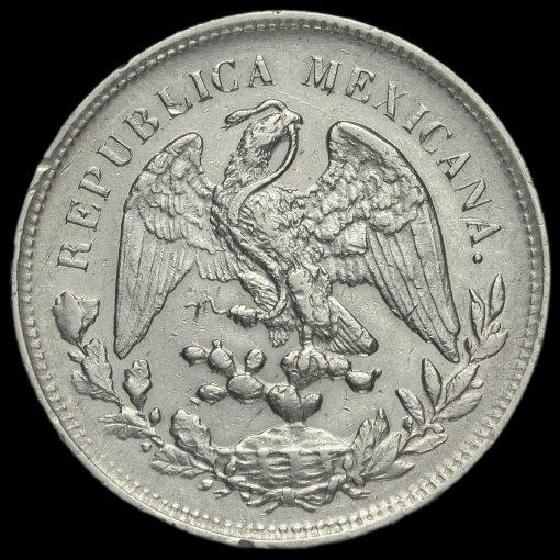 Mexico 1902 Silver 1 Peso Obverse