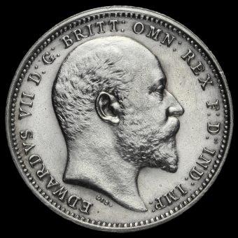 1905 Edward VII Silver Maundy Fourpence Obverse