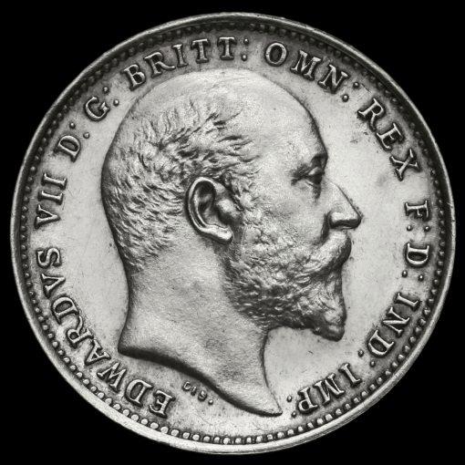 1906 Edward VII Silver Maundy Fourpence Reverse