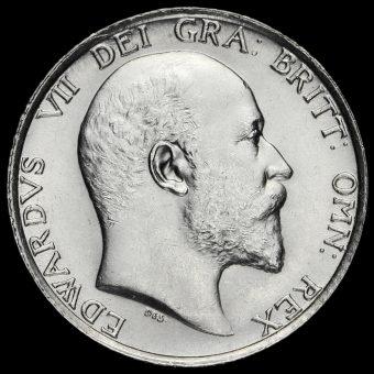 1907 Edward VII Silver Shilling Obverse