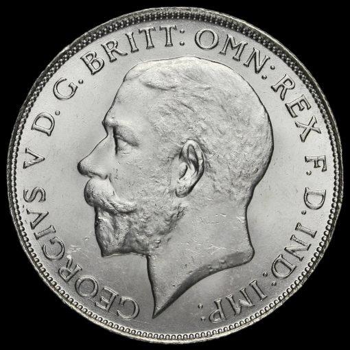 1923 George V Silver Florin Obverse