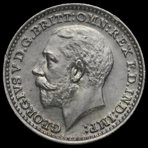 1925 George V Silver Maundy Twopence Obverse
