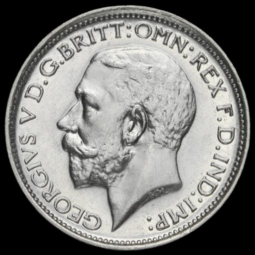 1926 George V Silver Maundy Fourpence Obverse