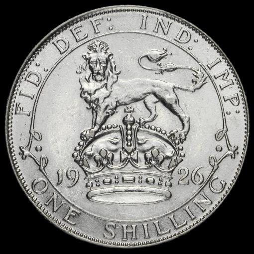 1926 George V Silver Shilling Reverse