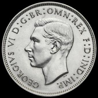 Australia 1938 George VI Silver Florin Obverse