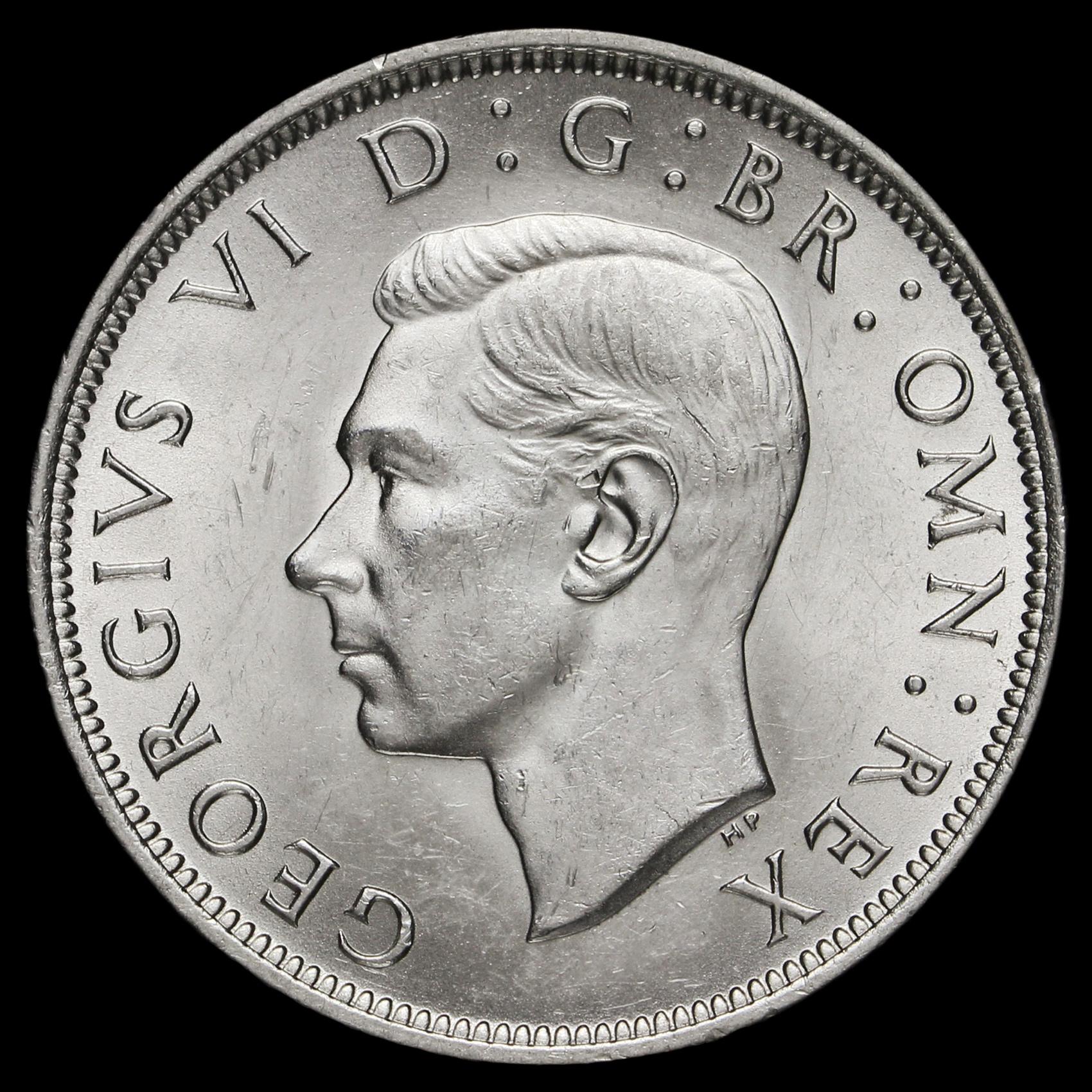 1940 half crown coin