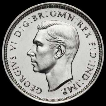 1946 George VI Silver Maundy Fourpence Obverse