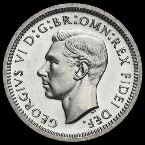 1949 George VI Silver Maundy Fourpence Obverse