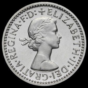 1973 Elizabeth II Silver Maundy Fourpence Obverse