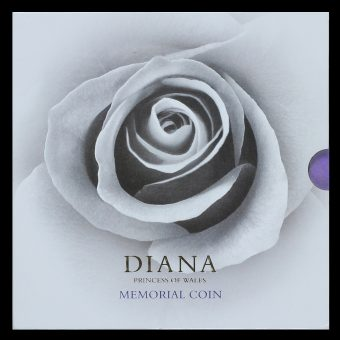 1999 Diana Princess of Wales Memorial Coin Cover