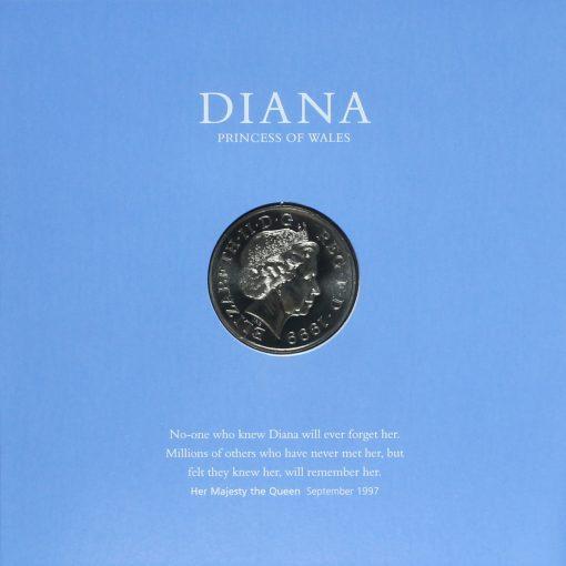 1999 Diana Princess of Wales Memorial Coin