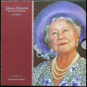 2000 Queen Elizabeth The Queen Mother Centenary Crown Pack