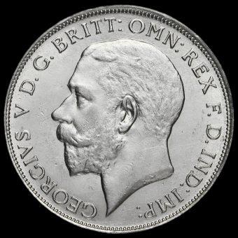 1922 George V Silver Florin Obverse