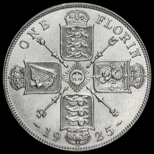1925 George V Silver Florin Reverse