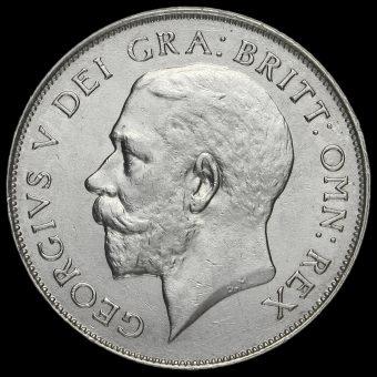 1925 George V Silver Shilling Obverse