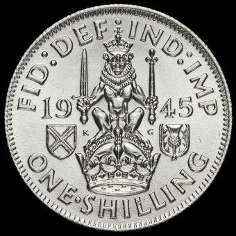 1945 George VI Silver Scottish Shilling Reverse