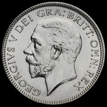 1927 George V Silver Shilling Obverse