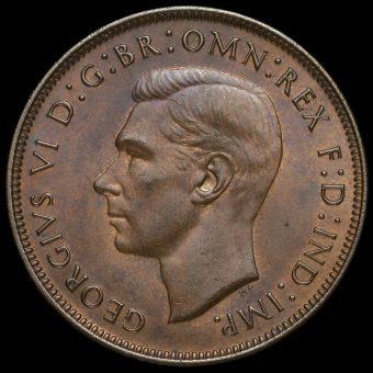 1948 George VI Penny Obverse