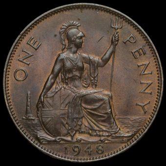 1948 George VI Penny Reverse
