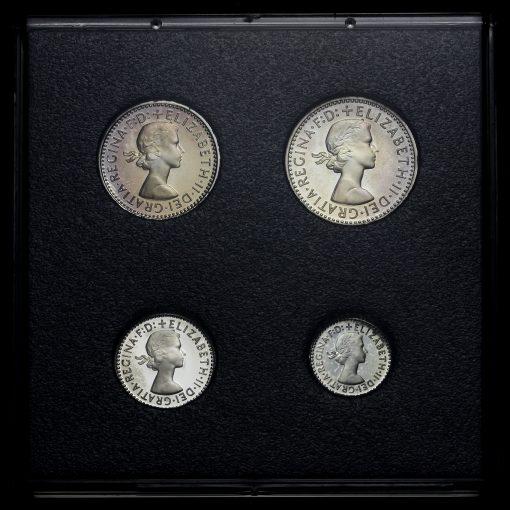 2000 Elizabeth II Silver Maundy Set Obverse