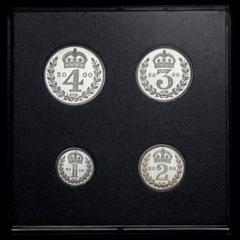 2000 Elizabeth II Silver Maundy Set Reverse