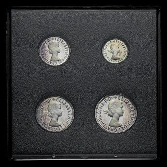 2006 Elizabeth II Silver Maundy Set Obverse
