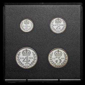 2006 Elizabeth II Silver Maundy Set Reverse