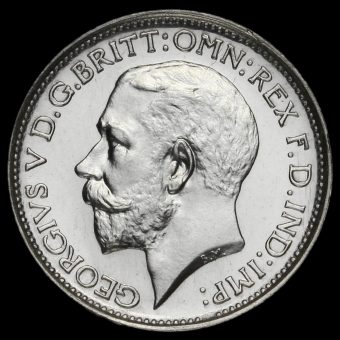 1912 George V Silver Maundy Fourpence Obverse