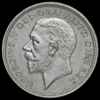 1936 George V Silver Wreath Crown Obverse