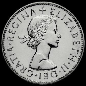 1970 Elizabeth II Proof Half Crown Obverse