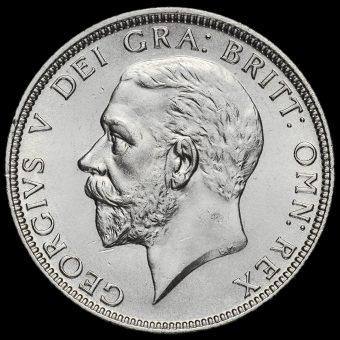 1929 George V Silver Florin Obverse