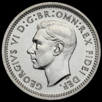 1950 George VI Silver Maundy Threepence Obverse
