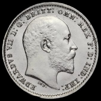1904 Edward VII Silver Maundy Twopence Obverse