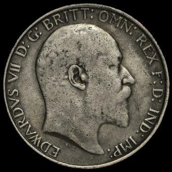 1906 Edward VII Florin Obverse