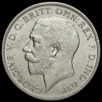 1920 George V Silver Florin Obverse