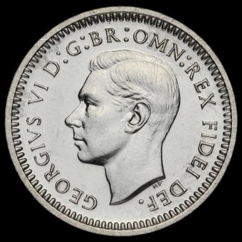 1950 George VI Silver Maundy Twopence Obverse