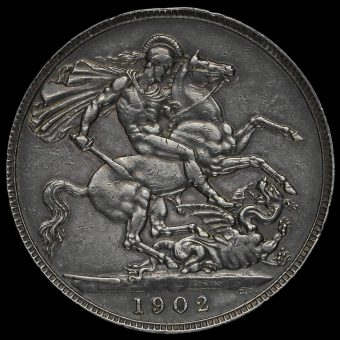 1902 Edward VII Silver Crown Reverse