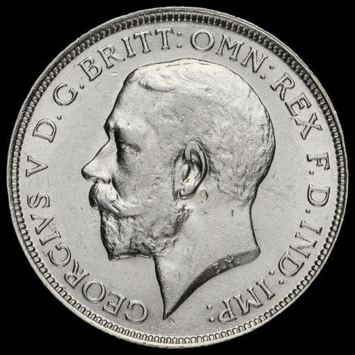 1911 George V Silver Florin Obverse
