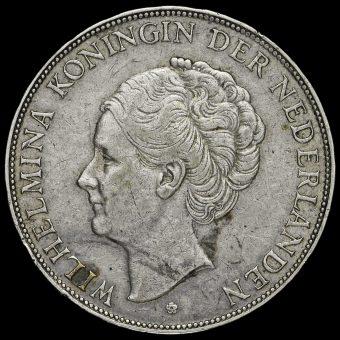 Netherlands 1931 2 1/2 Gulden Obverse
