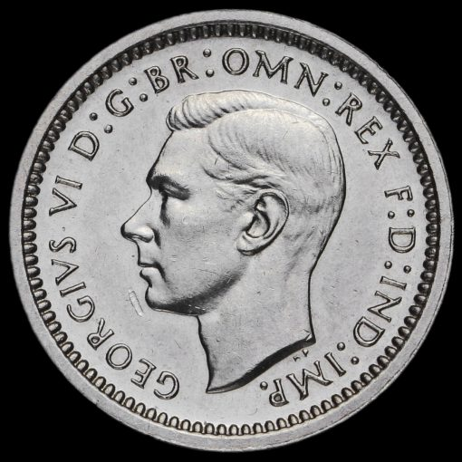 1948 George VI Silver Maundy Twopence Obverse