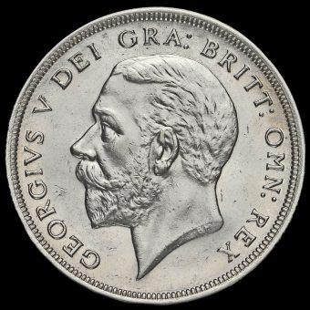1931 George V Silver Wreath Crown Obverse