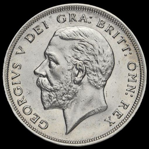 1931 George V Silver Wreath Crown Obverse