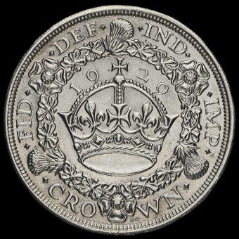 1931 George V Silver Wreath Crown Reverse